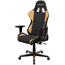 DXRacer FH11/NC Black Brown Formula Series Racing Bucket Seat Office Chair Gaming Ergonomic with Lumbar Support