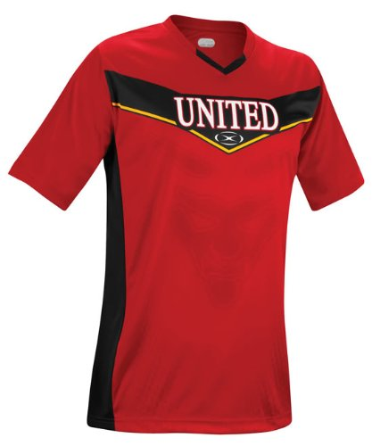 Champion Series II Manchester United Short Sleeve Jersey - Youth Small