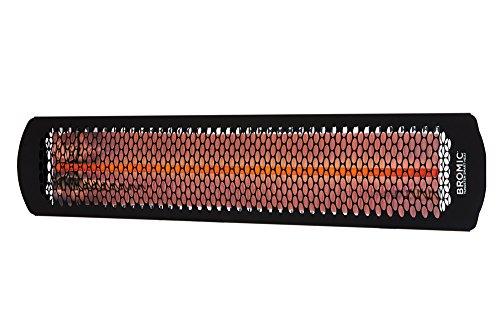 - Bromic Smart-Heat Tungsten Smart Radiant Infrared Electric Patio Heater, 3000W, Model BH0420031 (BR-ETNG-30)