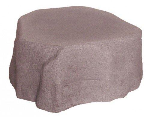Untersatz für Regenspeicher 'Hinkelstein' granitrot