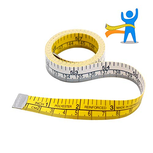 Tape Measure -Measuring Tape-Body Measuring Tape -60 Inch Heavy Duty Professional Soft Tape Measure Tools