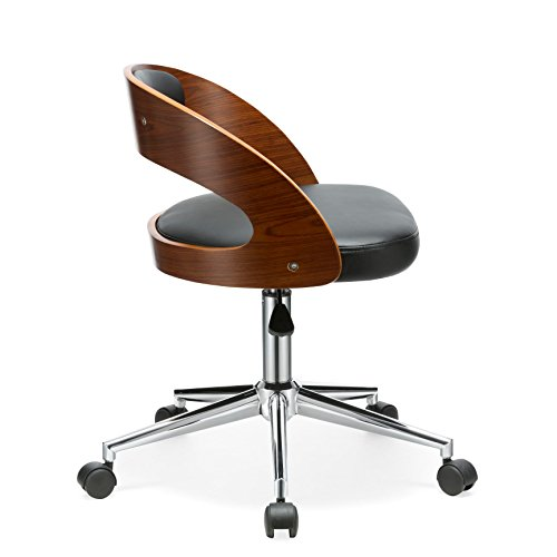 Porthos Home Sibley Office Chair, Black