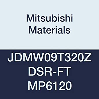 0.125 Thick 0.315 Inscribed Circle Class M 0.079 Corner Radius Chamfer and Round Honing Grade FH7020 Case of 10 Coated Mitsubishi JOMT080320ZZSR-JM FH7020 Carbide Milling Insert