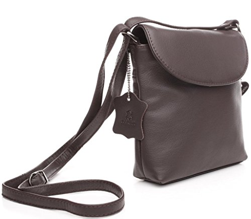 De Ledergefüttert Bolsa Handtaschen Con Correa Ascona Ajustable Clase Josybag manufaktur Mundo nbsp;compartimento Blanco Josephine Osthoff Piel 3 Hombro YqxUXFw50