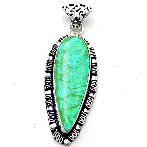 Color Change Australian Triplet Opal 925 Sterling Silver Plated Jewelry Pendant ()