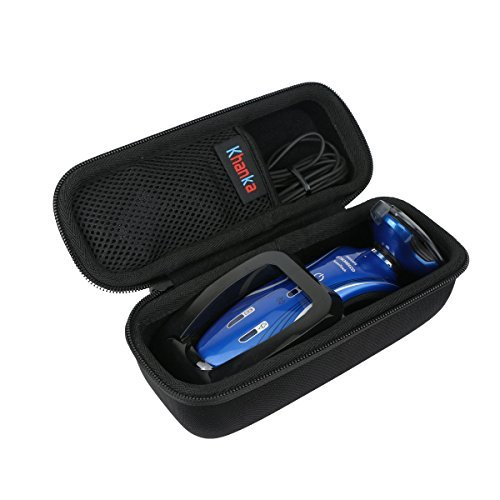 For Philips Norelco 1150X/46 1150X/40 Shaver 6100 6400 Hard Case Travel Bag by Khanka ()