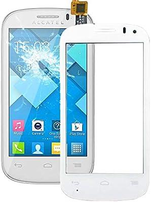 YANCAI Repuestos para Smartphone Panel táctil para Alcatel One Touch Pop C3 / OT-4033 / 4033D / 4033X (Negro) Flex Cable (Color : Blanco): Amazon.es: Electrónica