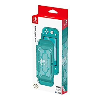 Nintendo Switch Lite Hybrid System Armor (Turquoise) by HORI - Officially Licensed by Nintendo