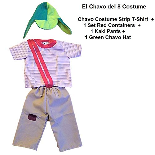 El Chavo del ocho Party Costume Kids ADULT LARGE -