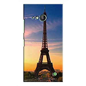Cover It Up - Eiffel Evening Lumia 730 Hard case