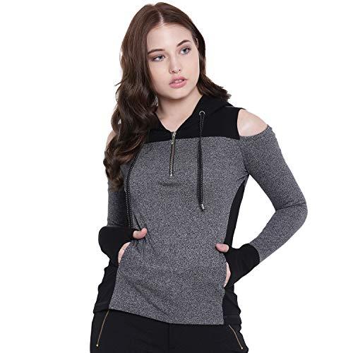 TEXCO Hooded Full Sleeves Women Tops