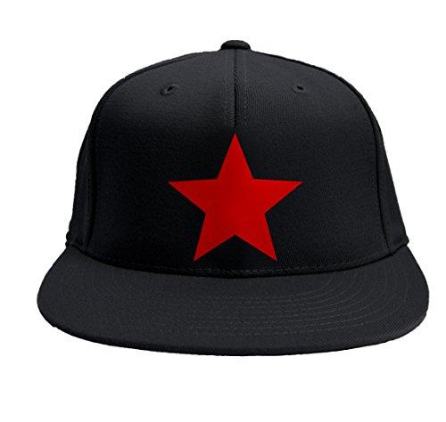 "Gorro Rap ""Star"" baseball SNAPBACK visera llana baseball rapper"