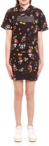 Vestido Curto Com Capuz Disney: Mickey e Minnie Colcci Fun Meninas