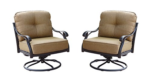 Swivel Rocker Club Chair - 1