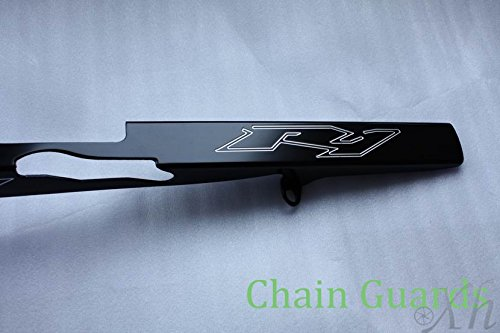 Black Chain Guards Cover For Yamaha Yzf R1 2004 2005 2006 2007 2008