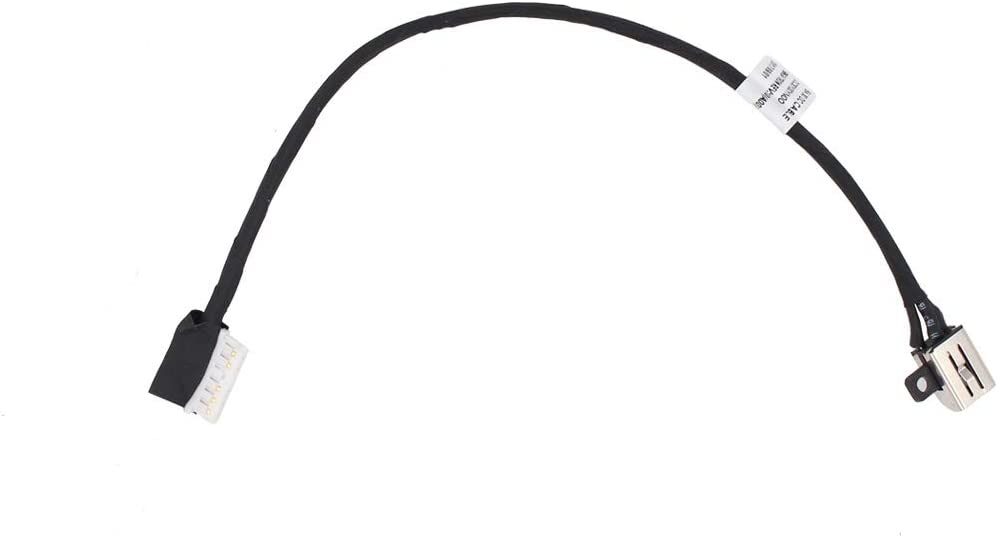 XtremeAmazing DC Power Jack Harness Cable for Dell Inspiron 15 5565 5567 I5567-1836GRY I5567-4563GRY Inspiron 17 5765 i5765 17 5767 P66F001 P66F002 P32E P32E002 P32E001 BAL30 DC30100YN00 Charger Port
