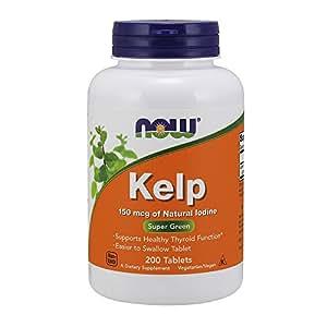 NOW  Kelp 150 Mcg, 200 Tablets