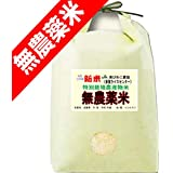 令和 元年度産 新米 無農薬米 滋賀県産 コシヒカリ 5kg 無農薬栽培 / 無化学肥料栽培米 (玄米のまま(5kg))