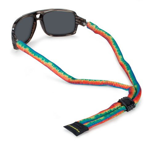 Croakies Suiters Eyewear Retainer, Tie Dye, - Sunglasses Dye Tie