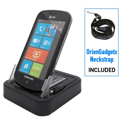 OrionGadgets USB Sync & Charge Cradle  for Samsung Focus