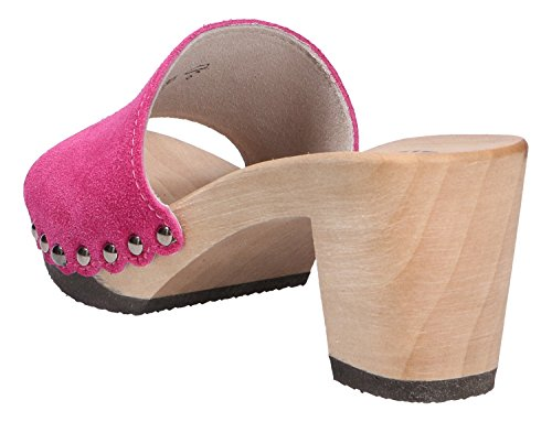 Rose Mules Softclox pour Femme pour Softclox Mules FBB6nW