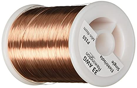 Remington industries 33snsp 33 awg magnet wire enameled copper remington industries 33snsp 33 awg magnet wire enameled copper wire 10 lb keyboard keysfo Images