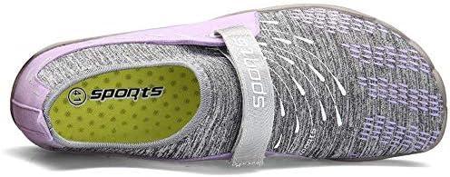 屋外の水遊びの靴ペダル純怠惰な靴、アクアの靴速乾性滑り止めウォーターシューズ男性(ピンク) ポータブル (色 : Pink, Size : US10.5)