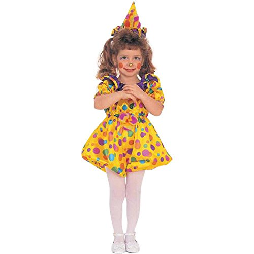 Kid's Toddler Cuddles The Clown Costume (Sz: 2-4T)