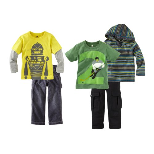 Tea Collection Baby Boys' Hockey Bot Five Piece Set