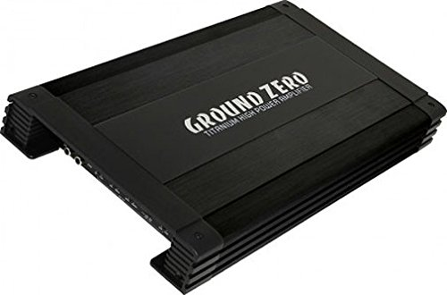 1 opinioni per Amplificatore Ground Zero GZTA 4125X-B 4 canali 640 watt filtro per subwoofer