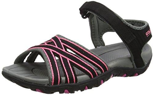 Hot Black Wanderschuhe Schwarz Pink Pink Safed Gola Trekking amp; Sandalen Schwarz Damen vgCwa