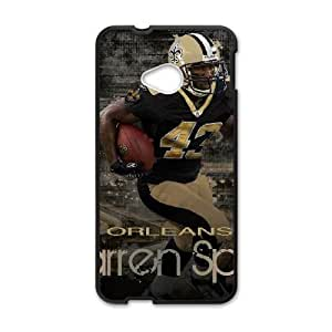 New Orleans Saints HTC One M7 Cell Phone Case Black persent zhm004_8439239