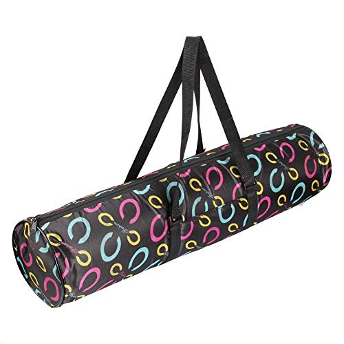 Yoga Bag JUNERAIN Carriers Bag Pouch Gym Black Mat Sports Nylon Waterproof Pilates Case 5TTwqPr