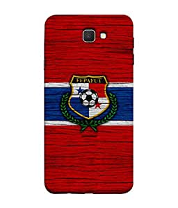 ColorKing Football Panama 06 Red shell case cover for Samsung J7 Prime