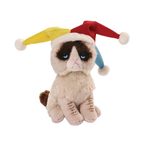 Gund Grumpy Cat Jester Beanbag Stuffed Animal Plush