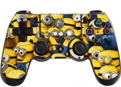 the grafix studio Despicable Me Minions Playstation 4 (Ps4) Controller Sticker / Skin / Decal / Ps2
