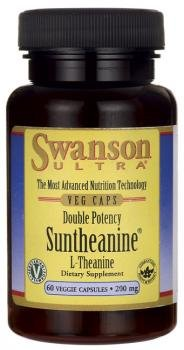 Doble potencia Suntheanine L-teanina 200 mg verduras 60 Caps