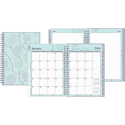 (Blue Sky 2019 Weekly & Monthly Planner and Notebook, Flexible Cover, Twin-Wire Binding, 5.8