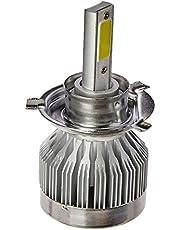 Multilaser Lâmpada Super Led H4 Para Moto Com Potência De 30/30W E Temperatura 6200K - Au841