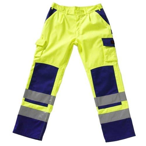Mascot 07179-860-141-82C62 Olinda Pantalon Taille L82cm/C62 Orange/Bleu marine