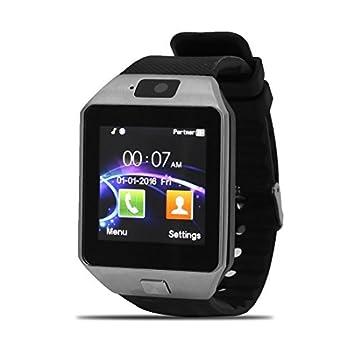 eDealMax Lost-Anti Deporte DZ09 podómetro de la cámara de la tarjeta SIM jugador inteligente