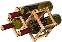 TYXQ Botellero de Madera Estante para Botellas de Vino