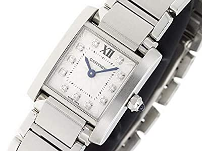 Cartier Tank Francaise Quartz Female Watch WE110006 (Certified Pre-Owned) by Cartier