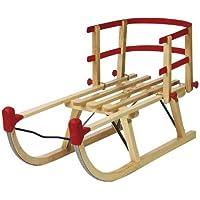 AlpenGaudi backrest for davoser Wooden Sledge 37.5 cm,Madera Infantil