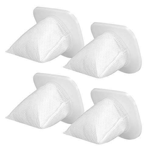 Homasy Replaceable Filter for Cordless Handheld Vacuum Cleaner, Washable and Reusable, 4 Pack Vacuum Filters
