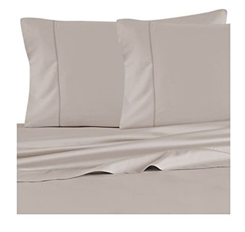 Barbara Barry Feather stitch king size pillowcase pair, Dusk (Beds Barbara Barry)