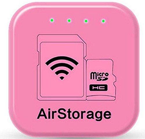 Vioiu ハイエンド知能共有器 スマートフォン 無線メモリ 雲のメモリ 無線Uディスクwi-fi カードリーダー MRG AirStorage スマホ かんたん データ バックアップ 保存 転送 SDカードリーダー エアストレージ PC/iPhone/Android対応 B07F38JSDG 128G|Color 1 Color 1 128G