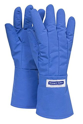 National Safety Apparel X-Large 3M Scotchlite Thinsulate Lined Nylon Taslan And PTFE Mid-Arm Length Waterproof Cryogen Gloves