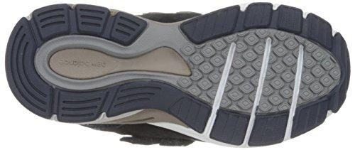 New Balance KV990V4 Pre Running Shoe (Little Kid) Navy