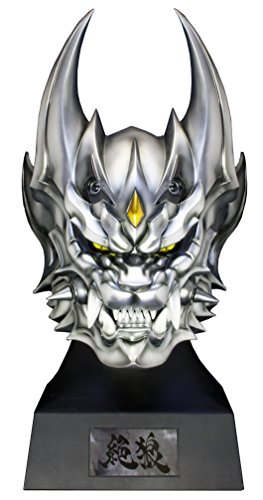 銀牙騎士ゼロ ヘッドモデル 「絶狼<ZERO>-DRAGON BLOOD-」 牙狼<GARO>プロップシリーズ 1/1 ソフトビニール製塗装済み完成品